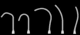 Pinza Baby DeBakey de Titanio con con mordazas Curva total mediana, chica, grande, curva y curva tipo cuchara #14, #15, #16, #17 y #18
