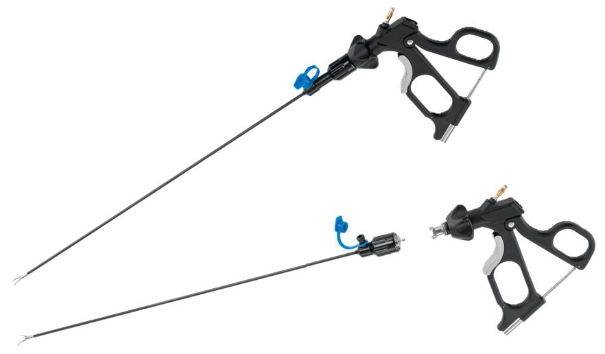 Instrumentos giratorios y desmontables de ø 3mm, 5mm & 10mm, monopolares